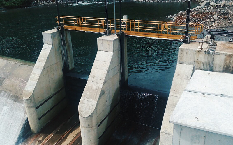 Fund floodgates manufacturing in La Cuchilla's dam hydroelectric power plant, Panama